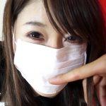 マスクの外側に恥ずかしいシミが…( ゚д゚)ハッ!